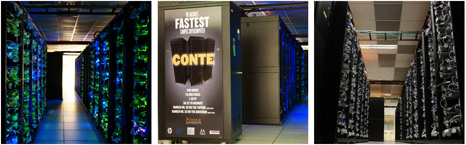 Computing Facilities: Conte Super Computer